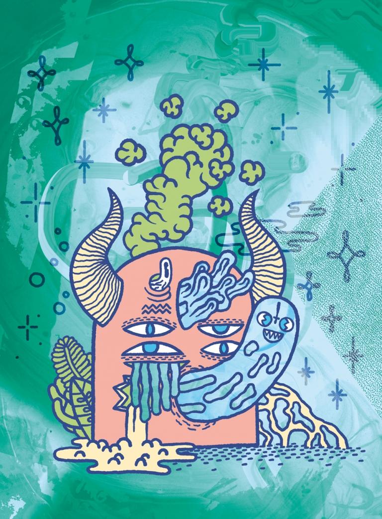Arthur Plateau Illustration